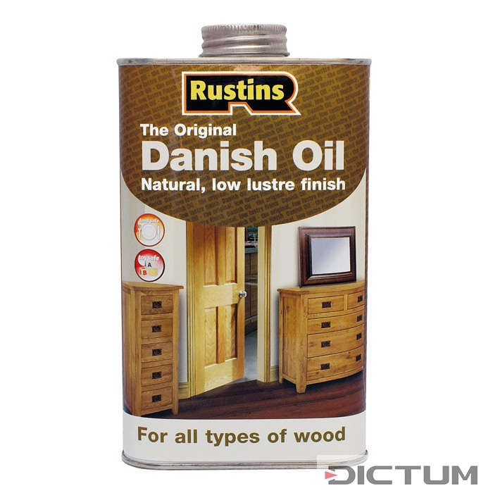 OLJE ZA LES RUSTINS – Danish Oil 500ml