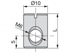MATICA D10x14xM6 Cink-FE