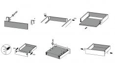 VODILA PREDALOV MODERN BOX H=135mm