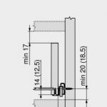 Blum 230M technical data – kopija