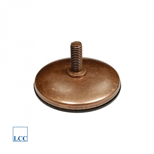 Leg adjustable fi60 old copper M8