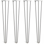 Noge za mizo Hairpin 3-RD natur