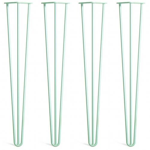 Noge za mizo Hairpin 3-RD zelene