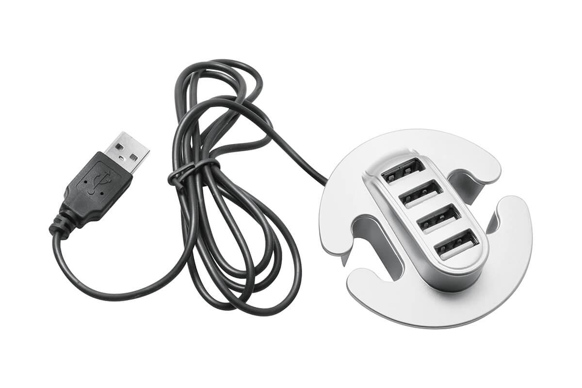 USB RAZDELILEC VGRADNI 4-VHODI