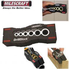ŠABLONA ZA VRTANJE LUKENJ POD KOTOM Milescraft DrillBlock 1362
